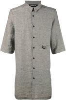 Numero 00 Numero00 - oversized shirt - men - Cotton/Linen/Flax/Polyester - S