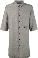 Numero 00 Numero00 - oversized shirt - men - Linen/Flax/Cotton/Polyester - S