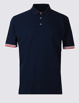 Blue Harbour Big & Tall Pure Cotton Polo Shirt