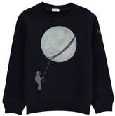 Il Gufo Phosphorescent Moon Sweatshirt
