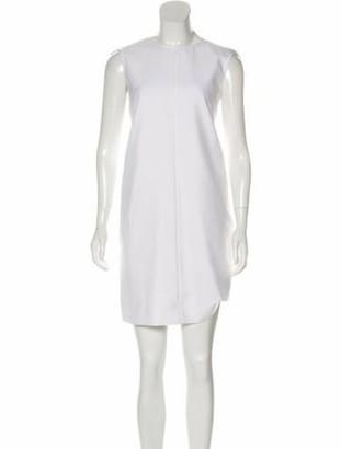 Celine Sleeveless Mini Dress w/ Tags White