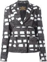 Vivienne Westwood belted blazer - women - Cotton/Elastodiene/Viscose - 44