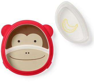 Skip Hop ZOO Smart Serve Non-Slip Training Set Monkey