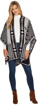 Pendleton Classic Knit Shawl Women's Sweater