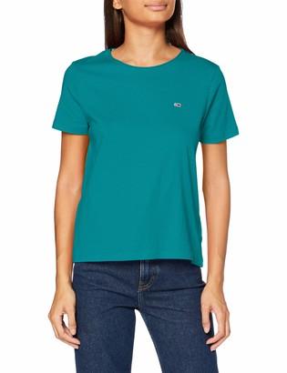 Tommy Jeans Women's TJW Slim Jersey C Neck Shirt
