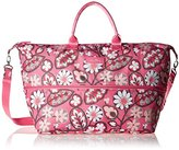 Vera Bradley Lighten Up Expandable Travel Carry On Bag