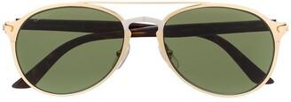 Cartier CT0212S aviator-frame sunglasses
