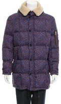Paul Smith Down-Filled Printed Parka w/ Tags