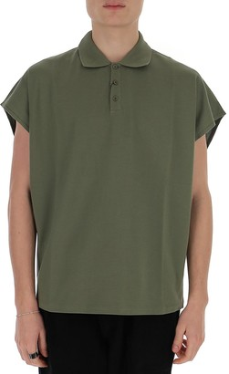 Saint Laurent Collared T-Shirt