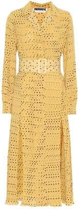 Rotate by Birger Christensen Polka-dot pleated dress