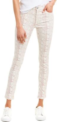 AG Jeans The Farrah Snake High-Rise Skinny Ankle Cut