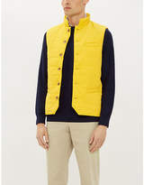 STENSTROMS Quilted padded shell gilet