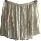 Joseph White Silk Skirts
