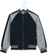 Roberto Cavalli printed full zip sweatshirt - kids - Modal - 4 yrs
