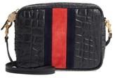 Clare Vivier Midi Sac Leather Crossbody Bag - Black