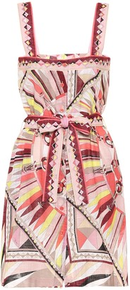 Emilio Pucci Beach Printed cotton minidress