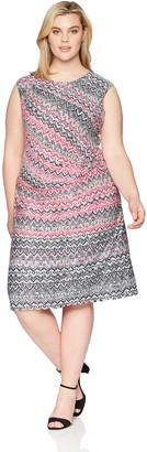 Nic+Zoe Women's Size Plus Spiced Up Twist Dress