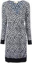 MICHAEL Michael Kors floral print shift dress - women - Polyester/Spandex/Elastane - L