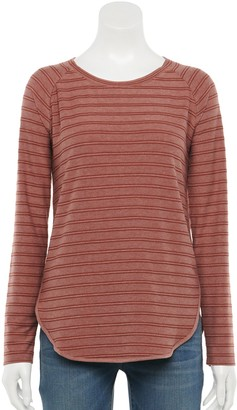 Sonoma Goods For Life Women's Supersoft Raglan Long Sleeve Tunic