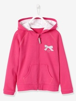 Vertbaudet Girls Zip-Up Sweatshirt
