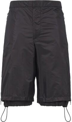 Prada drawstring cargo shorts