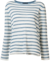 Nili Lotan Striped Cashmere Sweater