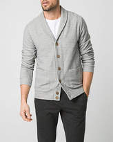 Le Château French Terry Shawl Collar Cardigan