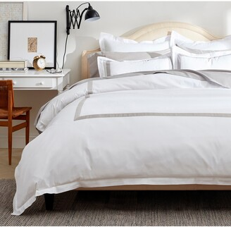 Boll & Branch Classic Hemmed Duvet Cover & Shams Set