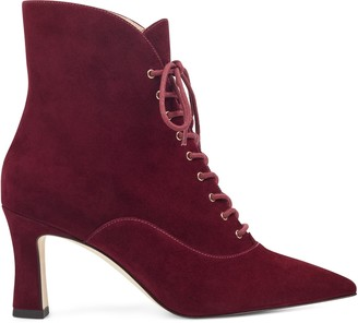 Nine West Callah Lace Up Booties