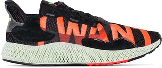 adidas ZX 4000 4D lace-up sneakers