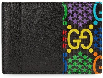 Gucci GG Psychedelic print cardholder