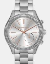 Michael Kors Hybrid Smartwatch Slim Runway Silver Tone