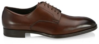 Giorgio Armani Derby Leather Dress Shoes