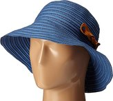 San Diego Hat Company Women's 4-Inch Brim Ribbon Packable Sun Hat