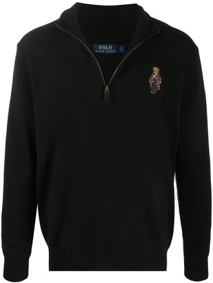 Polo Ralph Lauren Polo Bear half-zip sweater