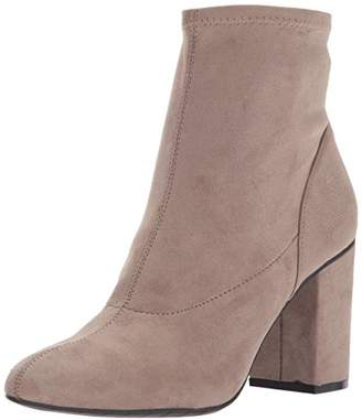 Kenneth Cole Reaction Women's Time for Fun Ankle Bootie with Sock Shaft High Heel Mi