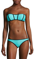 Design Lab Lord & Taylor Bando Bandeau Bikini Top