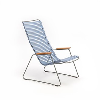 Ecc Lighting & Furniture Click Outdoor Lounge Chair Pigeon Blue