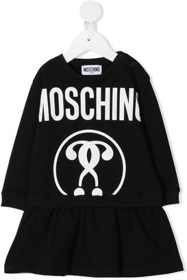 MOSCHINO BAMBINO Cotton-Blend Dress
