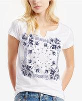Levi's Split-Neck Printed T-Shirt