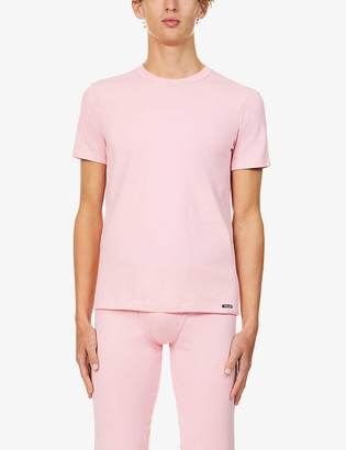 Tom Ford Crewneck regular-fit stretch-cotton T-shirt