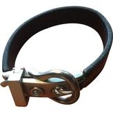 Hermes Black Silver Bracelet