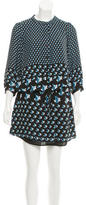 Rebecca Minkoff Shift Abstract Print Dress