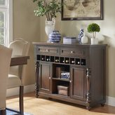 TRIBECCA HOME Parisian Wine Rack Buffet Server