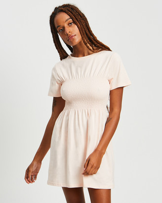 Calli - Women's Pink Mini Dresses - Volia Tee Dress - Size One Size, 6 at The Iconic