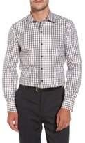 David Donahue Gingham Sport Shirt