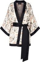 Coleman Louise Dawn Dragon Silk Kimono