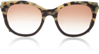 Thierry Lasry Lively Cat-Eye Printed Acetate Sunglasses