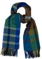 Vivienne Westwood Plaid Wool-Blend Scarf