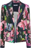 Isolda floral print blazer